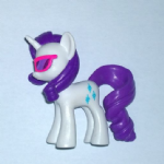 My Little Pony Figure Rarity with Sunglasses Figure G4 FiM Egmont Magazine UK